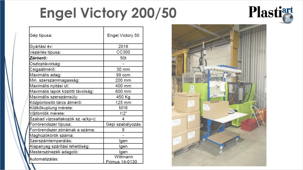 Engel Victory 200-50-Robot