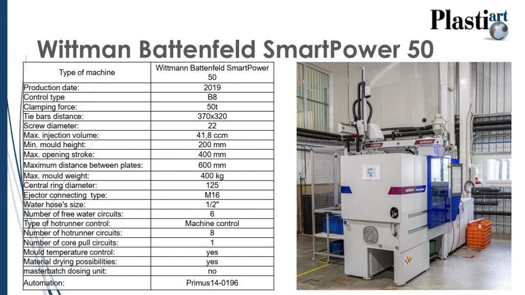 Wittmann Battenfeld SmartPower 50