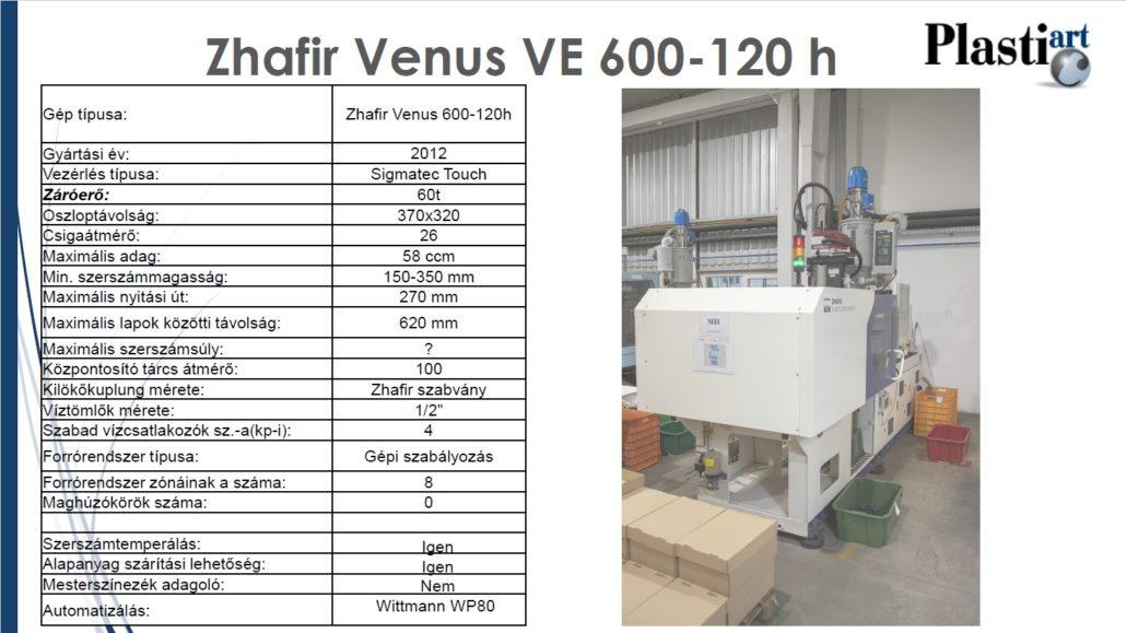 Zhafir Venus VE 600-120h_robot